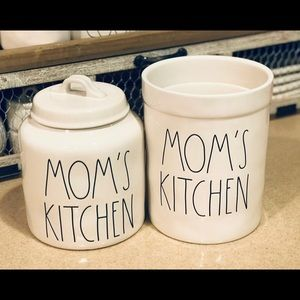 Rae Dunn MOM'S KITCHEN Canister & Crock